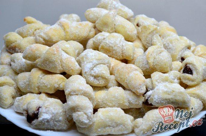 Křupavé vanilkové rohlíčky